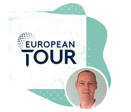 Peter Rudd European GA Tour