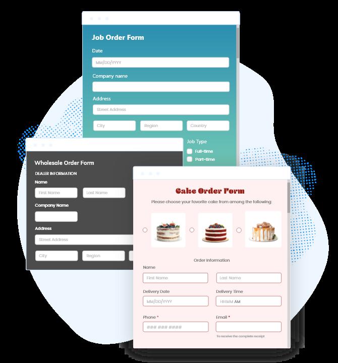 Bestellformular-Vorlagen