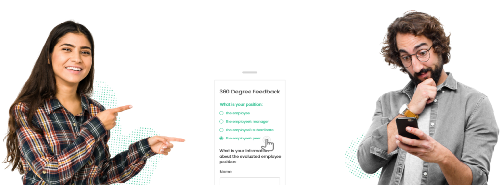 mobile-responsive 360 degree form