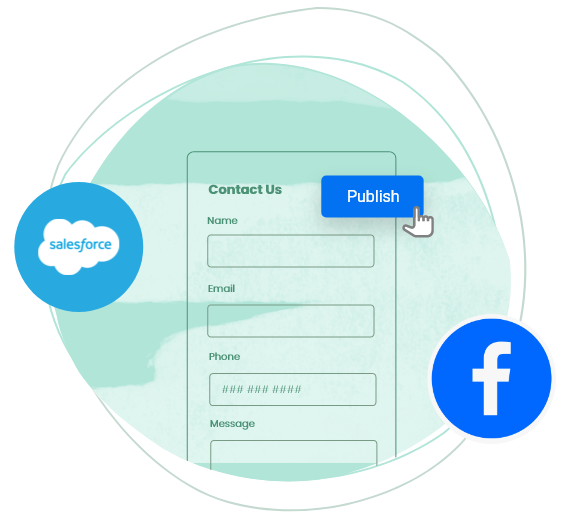 generate contact form code for any platform