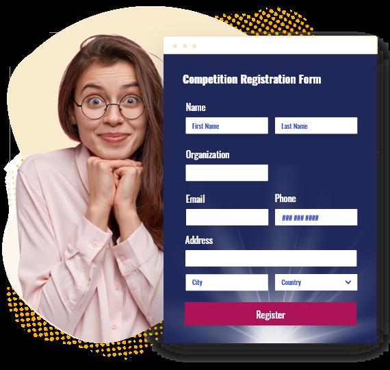 formulaire d'inscription au concours