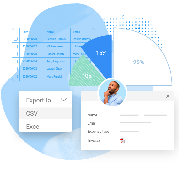 web form builder with reporting and data management