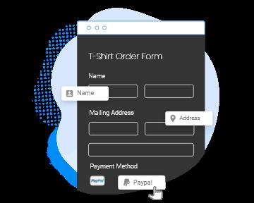 Formulaire de commande personnalisé