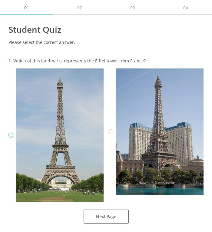 Student Quiz