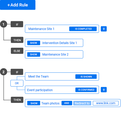 white label form builder with conditional logic