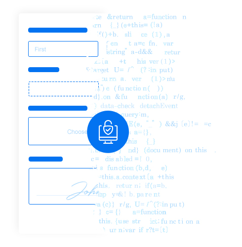 secure white label form builder