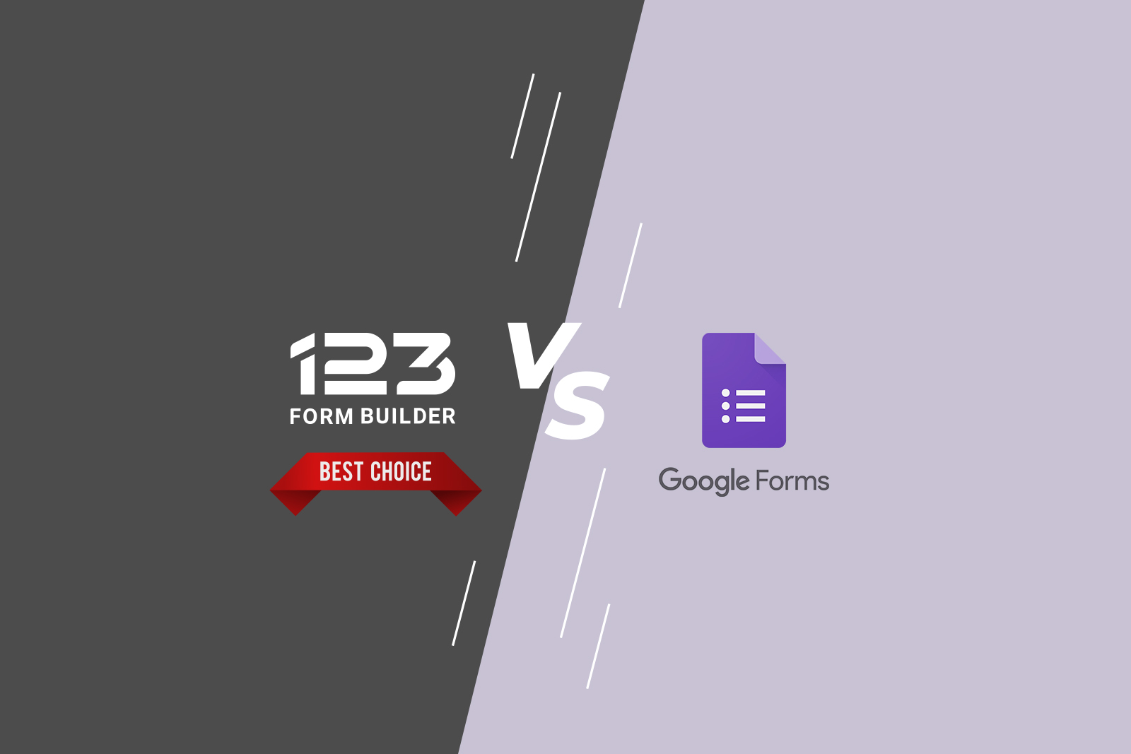 Google Forms alternatives: Why Choosing (and Staying with) 123 Form Builder Wins