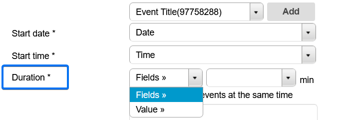 Event Duration
