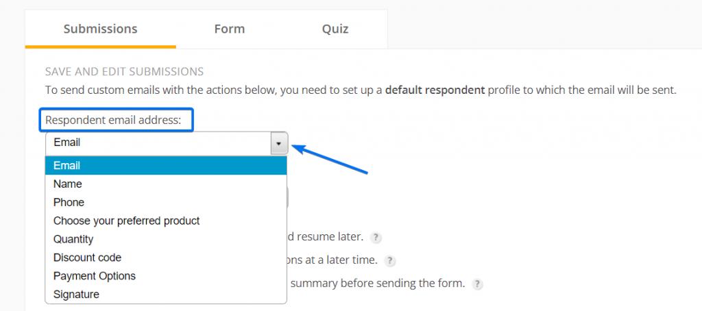 Respondent email address